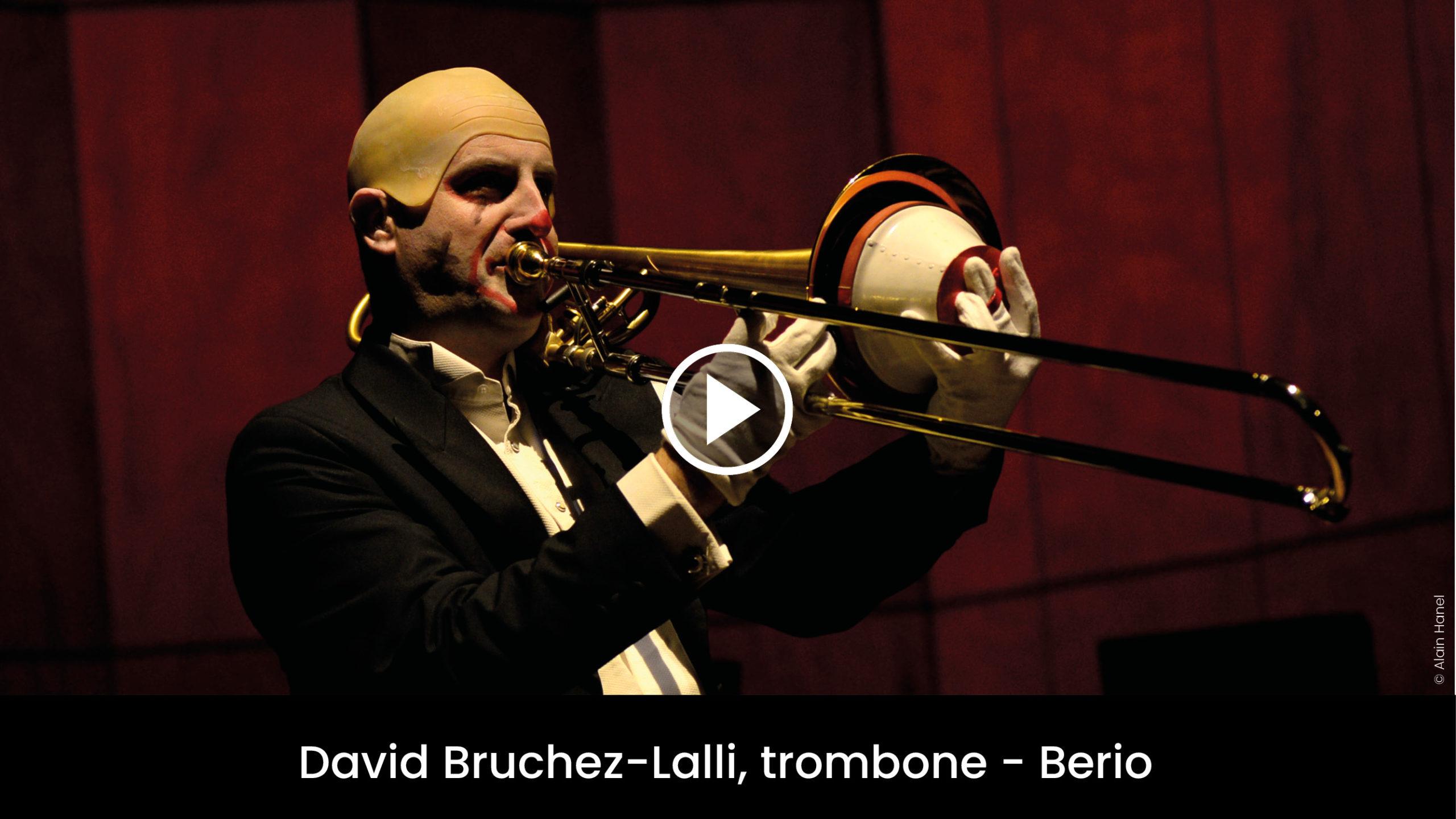 David Bruchez-Lalli, trombone