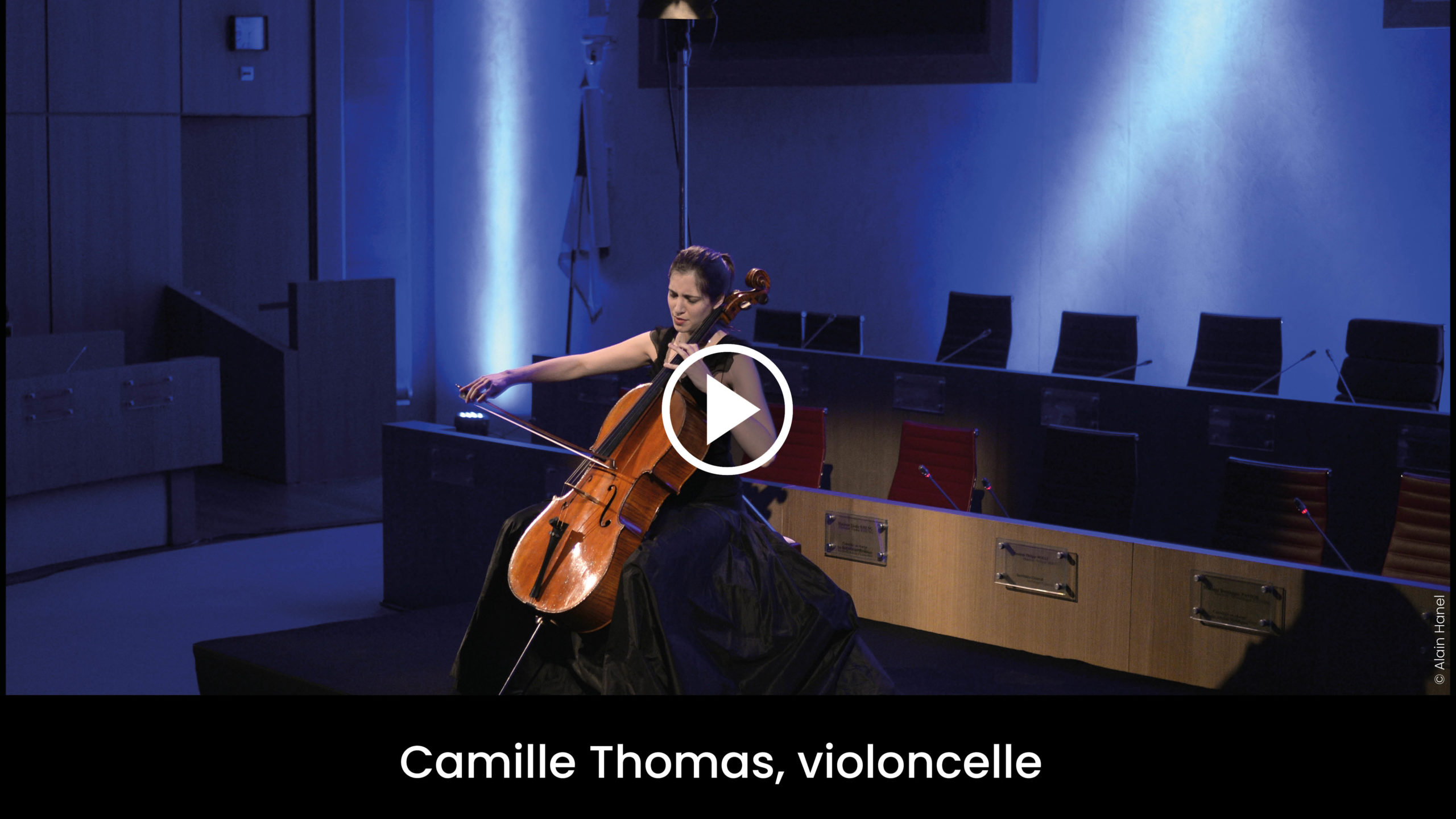 Camille Thomas, violoncelle