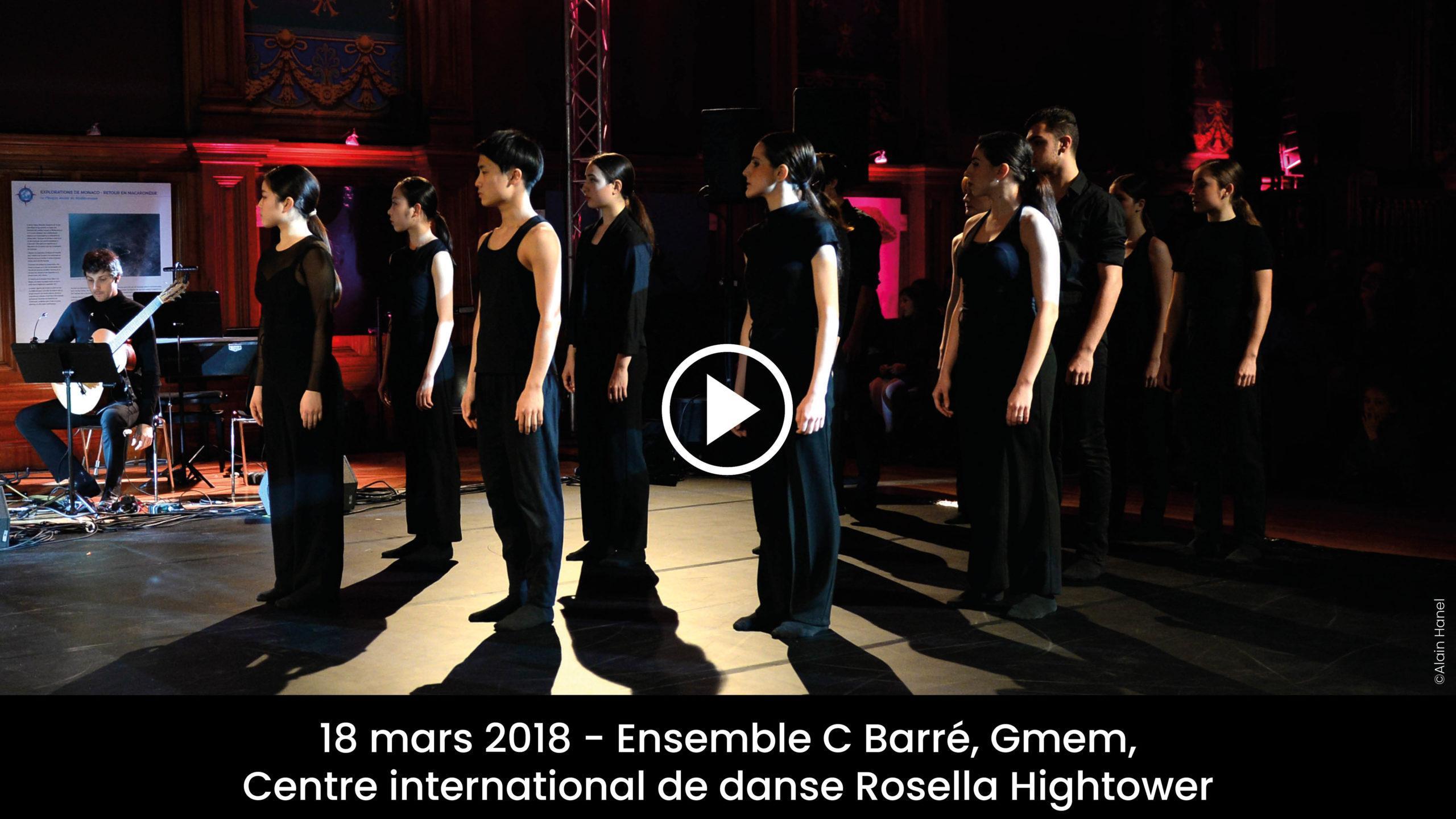 Monaco Music Forum – CBarré, gmem, Centre de danse Rosella Hightower