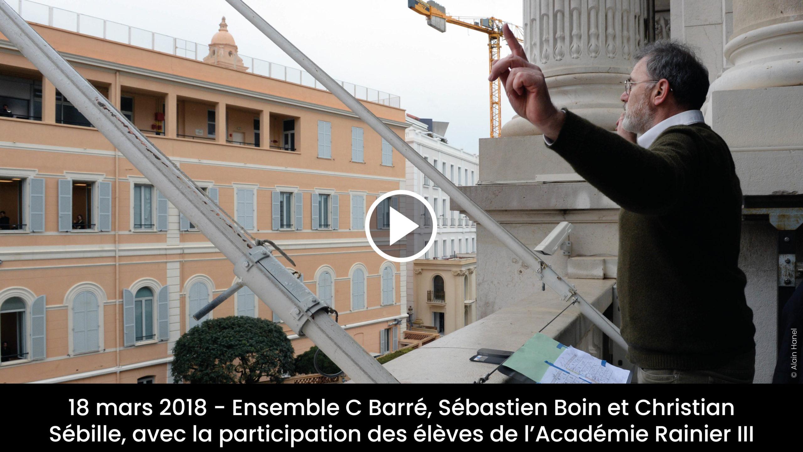 Monaco Music Forum – C Barré, Sébastien Boin, Christian Sébille et élèves de l'Académie Rainier III